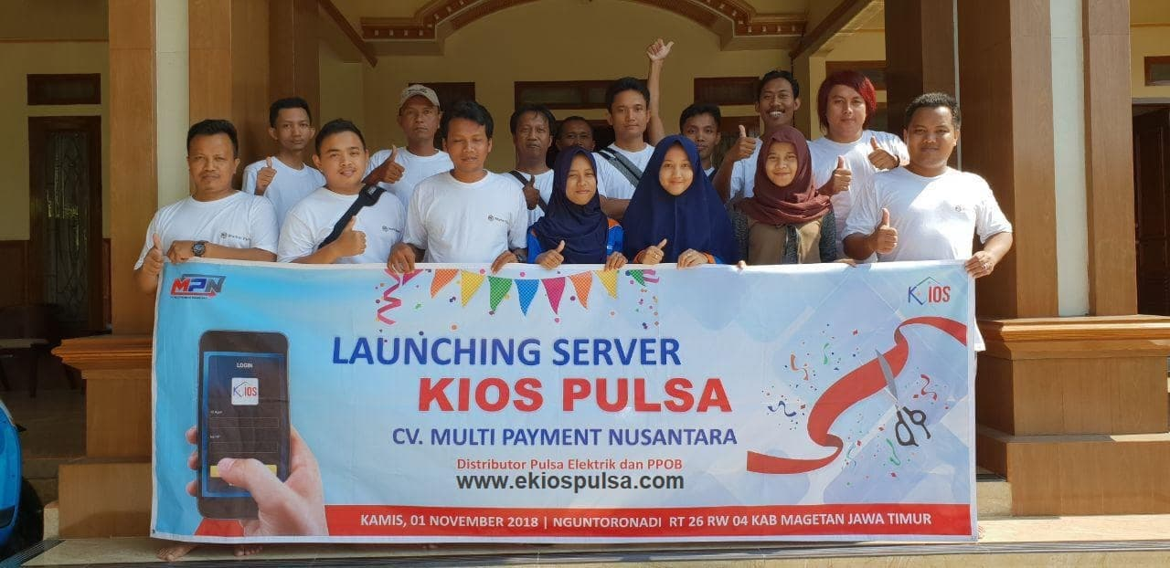 launching kios pulsa murah
